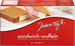 Jeden Tag Sandwich-Waffeln
