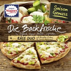 Original Wagner Die Backfrische Käse Duo (350 g) - 4009233006892