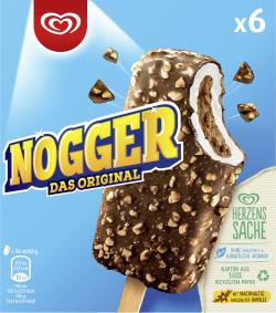 Nogger Familienpack Langnese Eis (6 St.) - 8712566328086