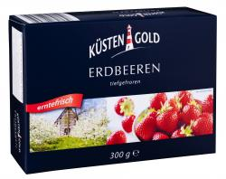 Küstengold Erdbeeren (300 g) - 4250426208450