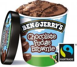 Bild für Ben & Jerry's Chocolate Fudge Brownie