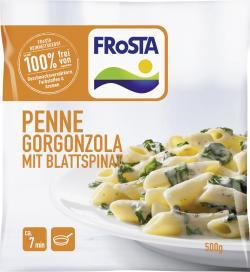 Frosta Penne Gorgonzola mit Blattspinat