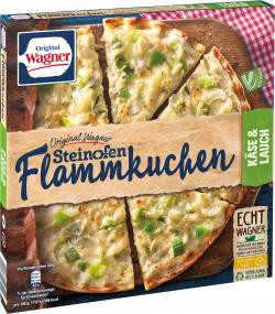 Original Wagner herzhafter Flammkuchen, Käse & Lauch (320 g) - 4009233003402