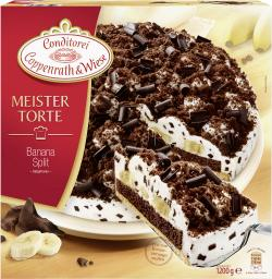 Coppenrath & Wiese Meistertorte Banana-Split (1,20 kg) - 4008577006698