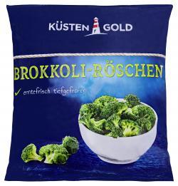 Küstengold Brokkoli-Röschen