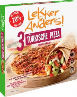 Lekker & Anders 3 Lahmacun Türkische Pizza (450 g) - 4026279981105