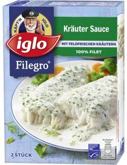 Iglo Filegro Kräuter Sauce