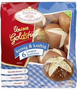 Coppenrath & Wiese Unsere Goldstücke Laugenbrötchen