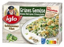 Iglo Schlemmer Filet Grünes Gemüse