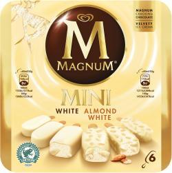 Magnum Mini White & White Almond (6 St.) - 8712100637940