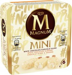 Magnum Mini White & White Almond
