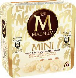 Magnum Mini White Chocolate & White Chocolate Almond