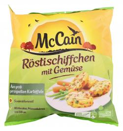 McCain Röstischiffchen mit Gemüse (600 g) - 8710438100280