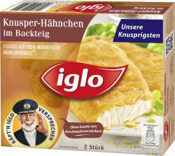 Iglo Knusper-Hähnchen im Backteig (17 g) - 4250241206525