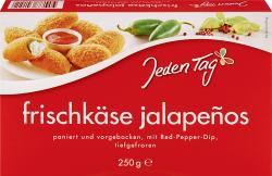 Jeden Tag Frischkäse Jalapeños