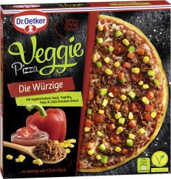 Dr. Oetker Veggie Pizza Die Würzige (390 g) - 4001724018827