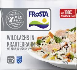 Frosta Wildlachs in Kräuterrahm