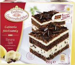 Coppenrath & Wiese Cafeteria fein & sahnig Banana Split (450 g) - 4008577020243