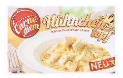 Carne Diem Hühnchentopf in feiner Zwiebel-Sahne-Sauce