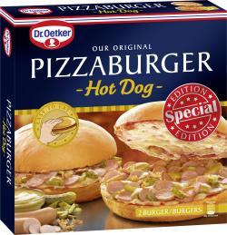 Dr. Oetker Pizzaburger Hot Dog
