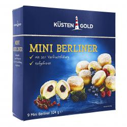 Küstengold Mini Berliner (324 g) - 4250426217438