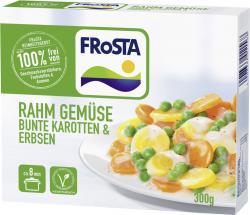 Frosta Rahm Gemüse Bunte Karotten & Erbsen (300 g) - 4008366011568