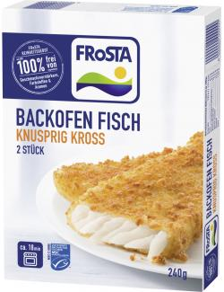 Frosta MSC Backofen Fisch Knusprig Kross (240 g) - 4008366011940