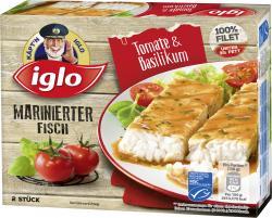 Iglo Marinierter Fisch Tomate & Basilikum (260 g) - 4250241207324