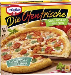 Dr. Oetker Die Ofenfrische Pizza Rucolapesto Tomate