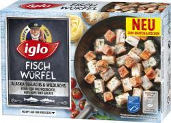 Iglo Fisch Würfel Alaska Seelachs & Wildlachs