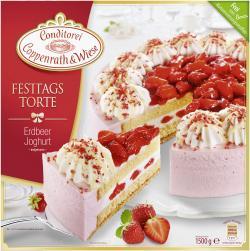 Coppenrath & Wiese Festtagstorte Erdbeer-Joghurt