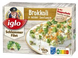 Iglo Schlemmer Filet Brokkoli in milder Senfsauce