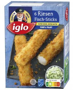 Iglo Riesen MSC Fisch Sticks