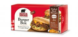 Block House Burger-Box Pulled Beef