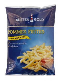 Küstengold Pommes Frites Normalschnitt