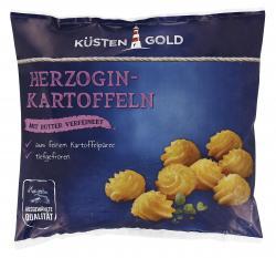 Küstengold Herzogin Kartoffeln
