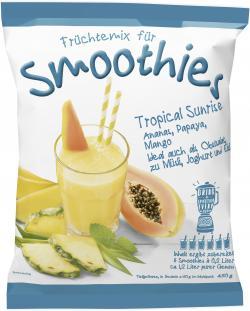 Jütro Früchtemix für Smoothies Tropical Sunrise