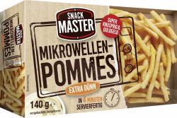 SnackMaster Mikrowellen Pommes extra dünn