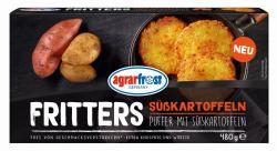 Agrarfrost Fritters Puffer mit Süßkartoffeln
