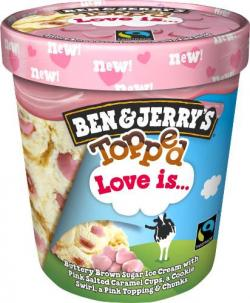Ben & Jerrys Topped Love is