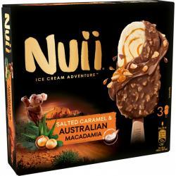 Nuii Eiscreme Salted Caramel & Australian Macadamia