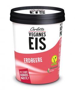 Carlotta Veganes Eis Erdbeere