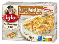 Iglo Schlemmerfilet Bunte Karotten in Joghurt-Thymian Sauce