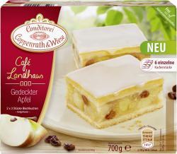 Coppenrath & Wiese Café Landhaus gedeckter Apfel-Blechkuchen