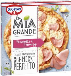 Dr. Oetker La Mia Grande Pizza Prosciutto e Formaggi