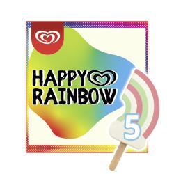 Langnese Happy Rainbow Familienpackung
