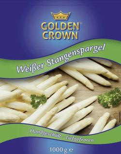 Golden Crown Stangenspargel weiß