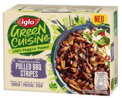Iglo Green Cuisine Vegetarische Pulled BBQ Stripes