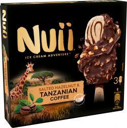 Nuii Eiscreme Salted Hazelnut & Tanzanian Coffee