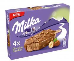 Milka Stieleis Chocolate Hazelnut